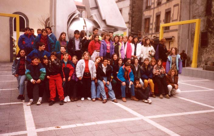 1991 Visita a Massiac